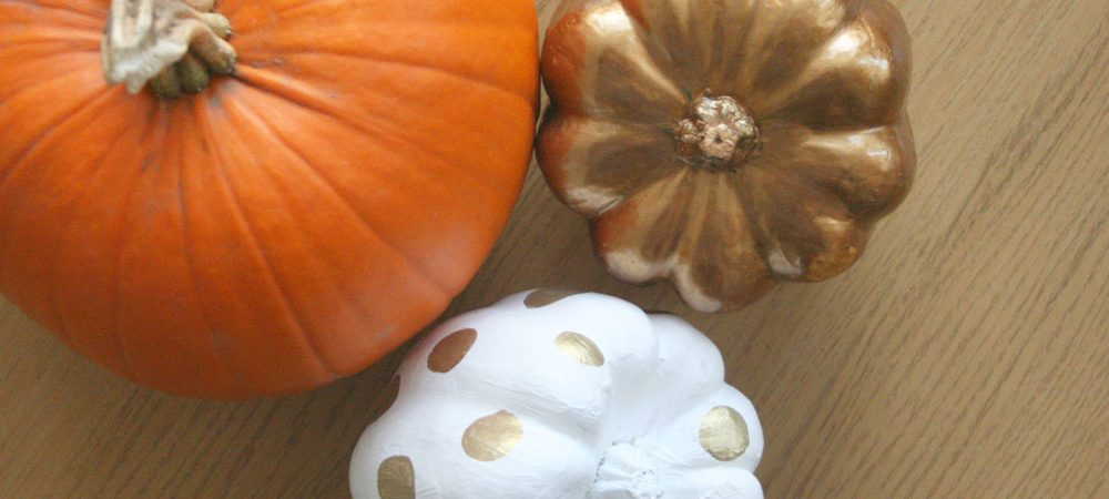 Easy autumn pumpkin DIY