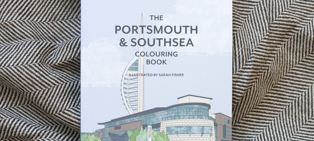 The Portsmouth & Southsea Colouring Book – available now!