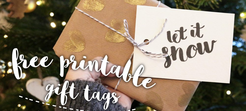 Downloadable gift tags – #12daysofchristmas Day 8